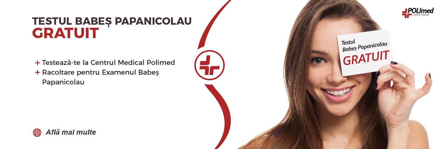 Testare gratuită Babeș Papanicolau – Screening cancer de col uterin